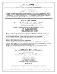 Example Resumes For Teachers Teaching Resume Examples Piqqus Com
