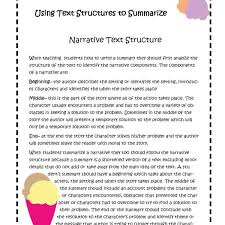 What Is Expository Text Summary Using Text Structures To Summarize Narrative And Expository Text