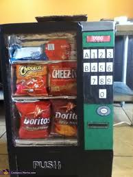 Cardboard Vending Machine Delectable Coolest Vending Machine Costume Photo 4848