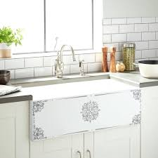 farmhouse sink white 33 vigo inch gray motif eggshell white cast iron