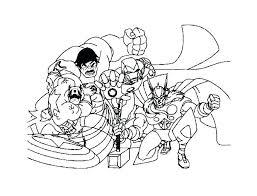 Hero Factory Coloring Page Trustbanksurinamecom