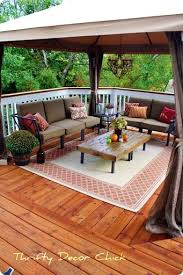 patio deck decorating ideas. Square Deck Decorating Ideas !!! Like Curtain On Posts Patio Pinterest