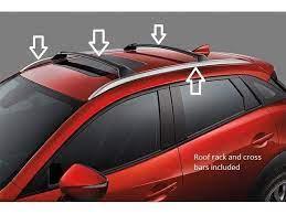 Mazda Cx 3 Roof Rack And Crossbars 00008ls01 00008ls02 Mazda Roof Rack Mazda Cx3