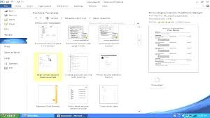 How To Make Resume On Microsoft Word 2010 10 How To Make A Resume On Word 2010 Bistronovecento