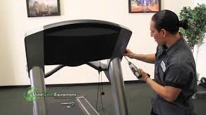 how to emble life fitness lifefitness 95ti and 97ti treadmills you