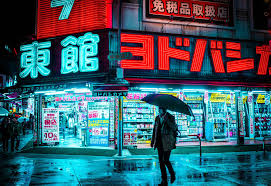 Neon Japan Wallpaper 4k