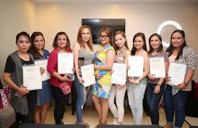 i would like to thank to all my students who attended my basic makeup work special thanks to my sponsors cathy doll philippines for your support