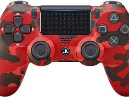 <b>Геймпад Sony</b> PS4 <b>Dualshock4v2</b> Cammo Red (CUH-ZCT2E ...