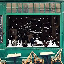 Glas Und Wandaufkleber Weihnachtsdekoration