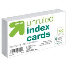 how to print on 3x5 index cards index cards unruled 3 x 5 100ct white up up target