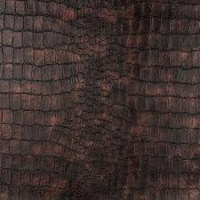 g393 bronze alligator look faux leather upholstery free on orders over 45 10273782