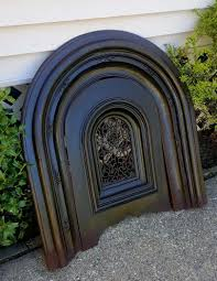 arched t goadby company antique fireplace surround w summer cover 1884475587