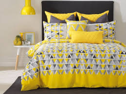 yellow bedding quilt cover sets