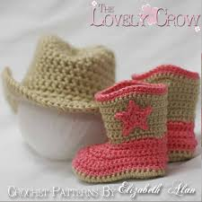 Crochet Baby Cowboy Boots Pattern Free