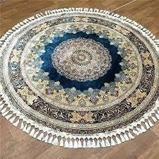 idea oriental rugs for blue handmade pure silk round oriental rugs by on 58 amazing oriental rugs