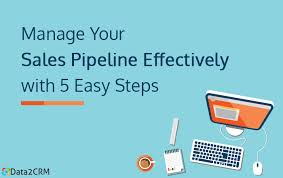 Manage Sales Pipeline Manage Your Sales Pipeline Effectively With 5 Easy Steps