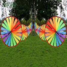 Generic 8Pcs Colorful Wind <b>Spinner Whirligig</b> Pinwheel ...