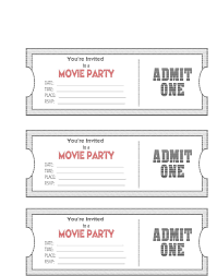 Invitation Ticket Template Fundraiser Tickets Template Free 24 Portablegasgrillweber All About 18