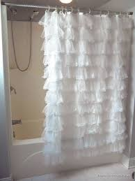white lace shower curtain. Innovative White Lace Curtains And Best 25 Shower Ideas On Home Decor Rustic Curtain E
