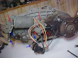 ford f150 f250 how to replace transfer case motor ford trucks 1998 ford f250 wiring diagram 1998 Ford F 250 Wiring Diagram step 4 remove the bolts from the motor
