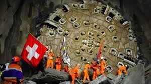 Swiss Gotthard rail tunnel - an engineering triumph - BBC News