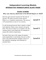 key stage transatlantic slave trade interactive image 7