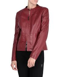 scuderia ferrari women s leather jacket with ergonomic seam leather jackets