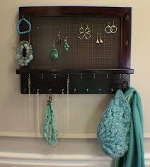 Wall Jewelry Organizer Ideas Wall Mounted Jewelry Organizer Rhama Home Decor
