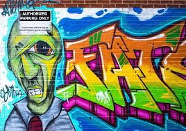 graffiti art artistic bricks