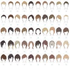 髪型100 2 デザイン資料集男性 How To Draw Hair Manga Hair