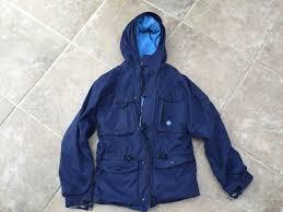 boys warm navy winter coat age 12 trespass