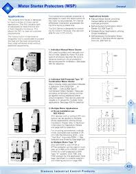 Motor Overload Protection Chart 3vu1600 Datasheet Siemens Datasheetspdf Com