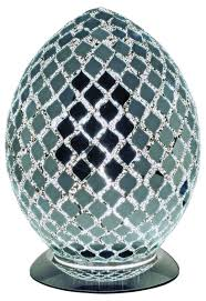 mirror mosaic egg lamp lm74cm