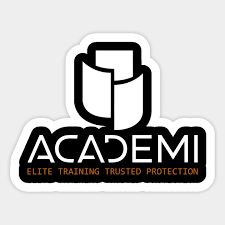 Academi Security Academi Security Academi Sticker Teepublic