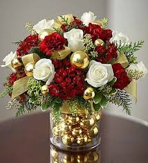 Charming Christmas Flower Arrangements Centerpieces 26 For Modern Home  Design with Christmas Flower Arrangements Centerpieces