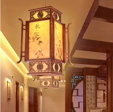 chinese style lighting. Online Shop Chinese Antique Four Seasons Painting Coffee Wood Art Pendant Lights Rural Style Brief Lamps For Corridor\u0026porch\u0026stairs MYR036 | Aliexpress Lighting S