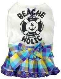 New <b>Spring Dog Clothes</b> of beache holic... - dog clothes ciera ...