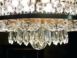 waterford crystal chandelier mid century layered for