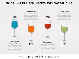 Wine Glass Charts For Powerpoint Presentationgo Com