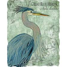 heron wall art great blue heron wall art copper heron wall art white heron ii wall