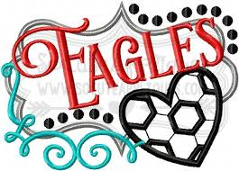 soccer frame eagles 16 5x7 6x10 hover over image to zoom