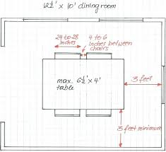 4 circular dining table dimensions size seating chart for with correct space allotment measurements room height