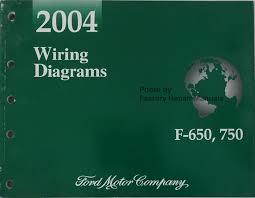 2004 ford f 650 f 750 medium duty truck electrical wiring diagrams 2004 wiring diagrams f 650 750