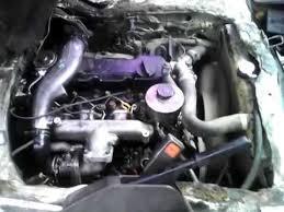 Nissan homy/caravan (TD27) on black diesel - YouTube