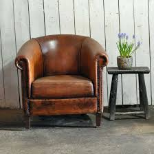 small leather chair. Small Leather Chair Club Chairs New Vintage Worn French With Sofas For Spaces