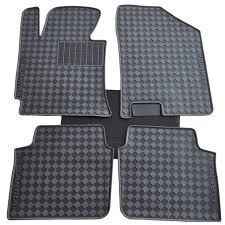 dedicated Ottomans easy to clean green latex wear rubber car floor
