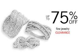 stop by and take up to 75 off on fine jewelry in for a limited time