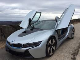 bmw 2015 i8 red. Wonderful Red The Butterflystyle Doors Of The I8 Are Actually Quite Easy To Use And Came For Bmw 2015 I8 Red