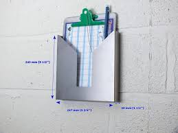 wall mounted clipboard holder