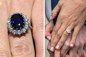 Last night, leading royal jewellery expert leslie she said diana selected the engagement ring after dinner with charles at windsor castle, adding: How Meghan Markle S Engagement Ring Compares To Kate Middleton S Travel Leisure